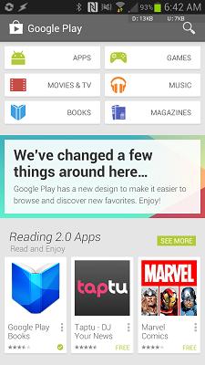 دانلود پلی استور Google Play Store 8.3.75.U مارکت رسمی اندروید 2