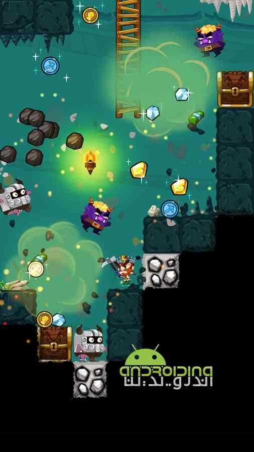 دانلود Pocket Mine 3 3.4.2 بازی سرگرم کننده معدن گنج کوچک 3 اندروید 1