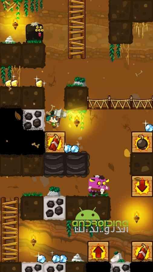 دانلود Pocket Mine 3 3.4.2 بازی سرگرم کننده معدن گنج کوچک 3 اندروید 4