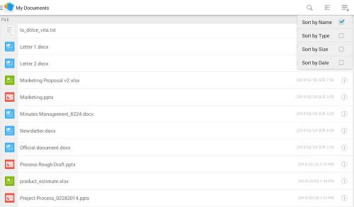 دانلود Polaris Office 7.3.11 نرم افزار ویرایش اسناد آفیس اندروید 1