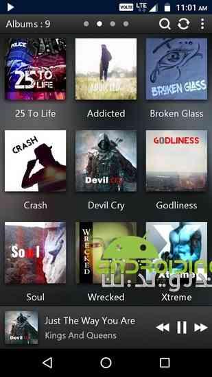 دانلود PowerAudio Pro Music Player 2.1 موزیک پلیر حرفه ای برای اندروید 4