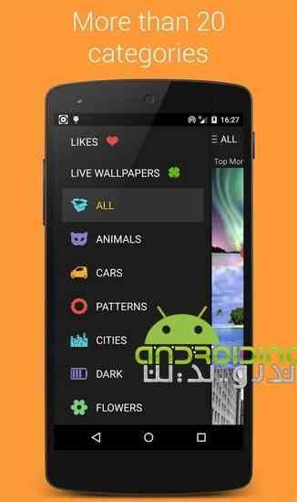 دانلود Premium Wallpapers HD 4.3.3 والپیپر های زیبا برای اندروید 4