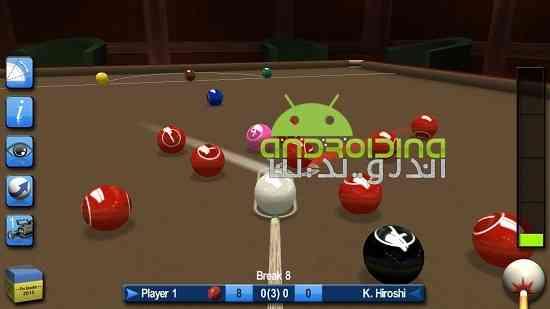 Pro Snooker 2017 - بازی ورزشی بیلیارد حرفه ای