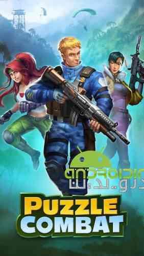 Puzzle Combat - بازی نقش آفرینی مبارزه پازلی