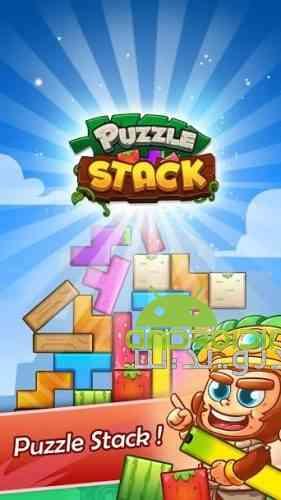Puzzle Stack: Fruit Tower Blocks Game - بازی پازل دسته ای: بلوک برج میوه
