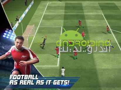 Real Football - بازی زیبای فوتبال گیم لافت اندروید