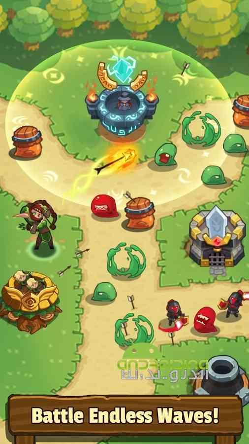 دانلود Realm Defense: Hero Legends TD 1.9.7.1 بازی قلمرو دفاع: قهرمان افسانه ها 1