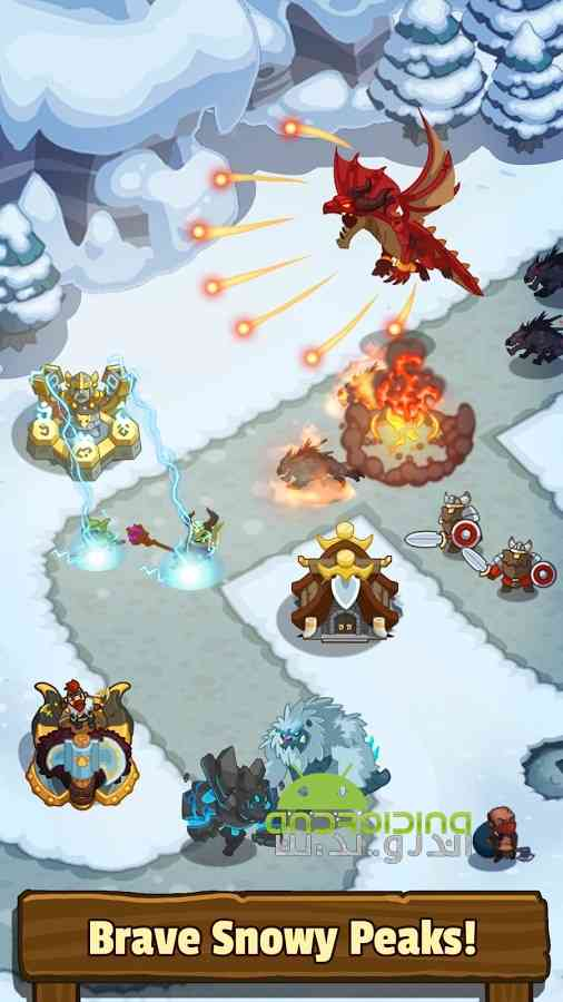 دانلود Realm Defense: Hero Legends TD 1.9.7.1 بازی قلمرو دفاع: قهرمان افسانه ها 2