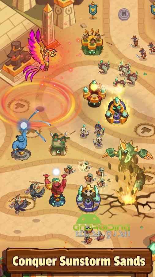 دانلود Realm Defense: Hero Legends TD 1.9.7.1 بازی قلمرو دفاع: قهرمان افسانه ها 3