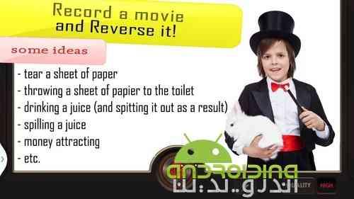 دانلود Reverse Movie FX PRO – magic video 1.3.9.3 معکوس کننده ویدئو در اندروید 1