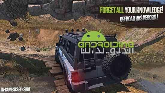 Revolution Offroad : Spin Simulation - بازی مسابقه ای انقلاب خارج از جاده ای: شبیه سازی چرخش