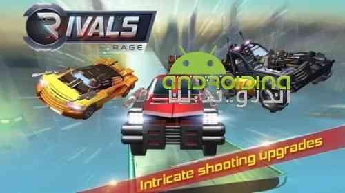 Rivals Rage - بازی مسابقه ای رقبای خشمگین
