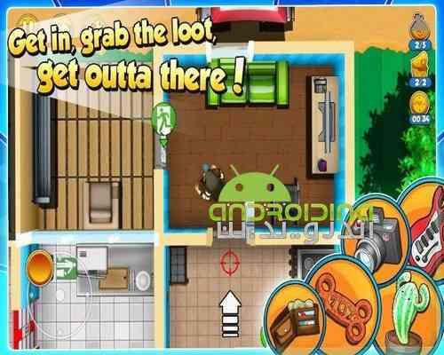 دانلود Robbery Bob 2 Double Trouble 1.5 بازی باب سارق 2 برای اندروید + دیتا 4