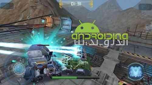 Robot Crash Fight - بازی مبارزه ربات های نابودگر