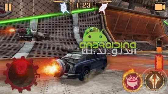 Rocket Car Ball - بازی ماشین های موشکی به دنبال توپ