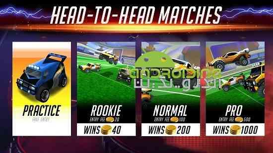 دانلود Rocketball Championship Cup 1.1.1 بازی توپ های موشکی 4