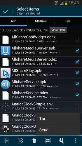 دانلود Root Explorer (File Manager) 4.1.6 فایل منیجر قدرتمند اندروید 3