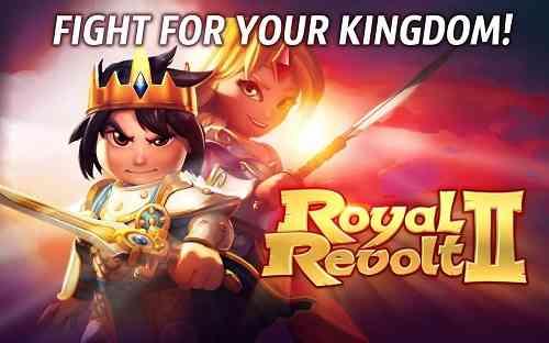 دانلود Royal Revolt 2 v3.6.0 بازی انلاین شاهزاده جوان اندروید 1