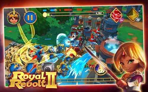 Royal Revolt 2 | بازی انلاین شاهزاده جوان