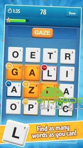 Ruzzle - بازی سرگرم کننده پازلی جدول کلمات