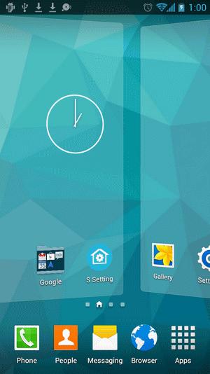 دانلود S Launcher 3.94 لانچر بسیار زیبا اس 6 1