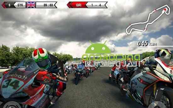 SBK15 Official Mobile Game - بازی مسابقه موتورسواری اس بی کا 15