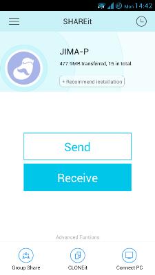 دانلود SHAREit  برنامه فوق العاده ارسال و دریافت فایل