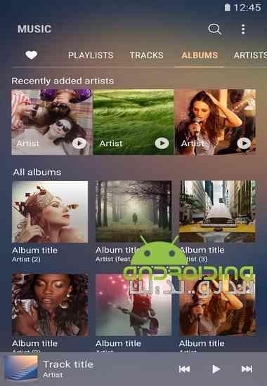 دانلود Samsung Music 16.2.05.20 نرم افزار موزیک پلیر سامسونگ برای اندروید 3