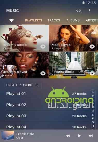 دانلود Samsung Music 16.2.05.20 نرم افزار موزیک پلیر سامسونگ برای اندروید 4