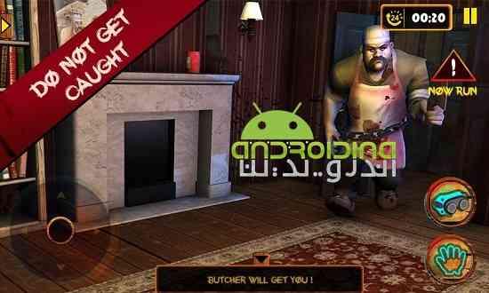 Scary Butcher 3D - بازی اکشن قصاب ترسناک