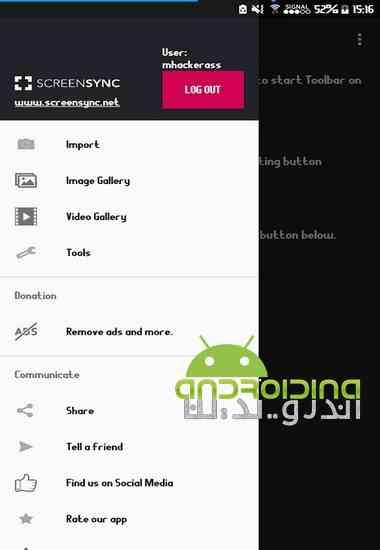 دانلو Screensync – Screenshot Pro 1.6.4.9.9 نرم افزار ضبط ویدئو از صفحه در اندروید 1
