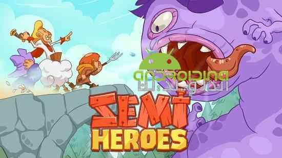 Semi Heroes: Idle Battle RPG - بازی قهرمان نیمه: نبرد بیهوده