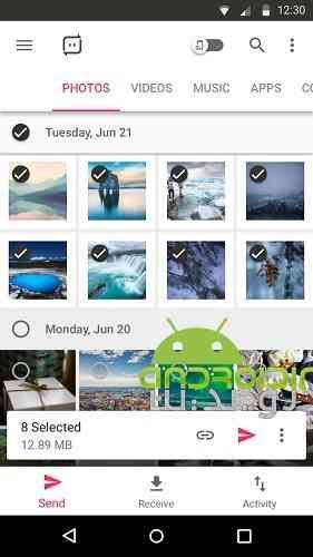 Send Anywhere PRO - ارسال فایل بین دو گوشی اندروید