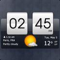 Sense Flip Clock & Weather v0.55 عوض شدن ساعت بصورت ساعت های فیلیپ HTC