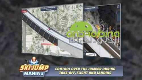 Ski Jump Mania 3 - بازی ورزشی اسکی پرش 3