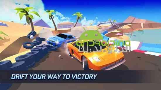 SkidStorm - بازی مسابقه ای ترمز طوفانی