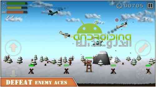 Sky Aces 2 - بازی شبیه سازی قهرمان آسمان 2