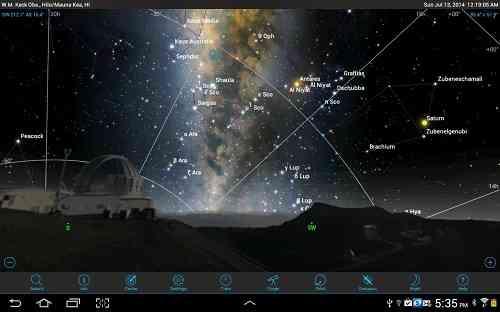 دانلود SkySafari 4 Pro 4.0.5 برنامه نجوم اسکای سافاری 4 1