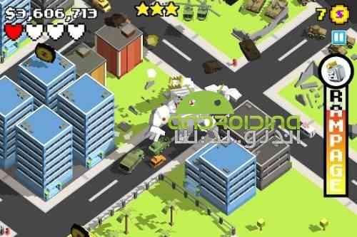 Smashy City - بازی اکشن شهر پر سر و صدا