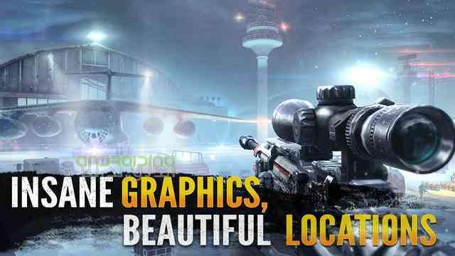 Sniper Fury - بازی خشم اسنایپر محصول کمپانی بزرگ گیم لافت ( بازی آنلاین میباشد)