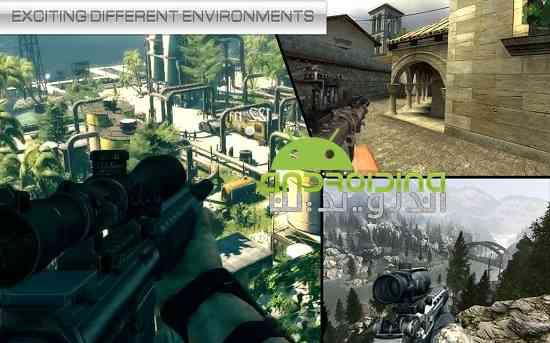 Sniper Fury Assassin Killer 3D Gun Shooting Games - بازی تک تیرانداز کشنده