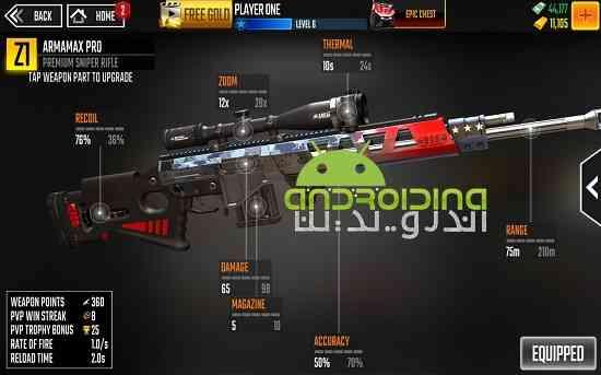 دانلود Sniper Strike : Special Ops 1.802 بازی انلاین شلیک تک تیرانداز: عملیات ویژه اندروید 2
