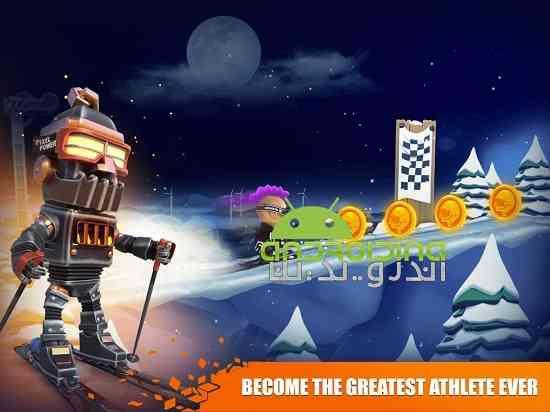 Snow Trial - بازی ورزشی مسابقات برفی