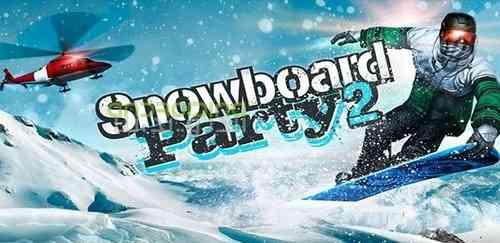 Snowboard Party 2 – بازی جدید مهمانی اسنوبورد 2 اندروید همراه دیتا