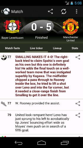 Soccer Scores Pro - FotMob | اطلاع از نتایج زنده فوتبال در سرتاسر دنیا از جمله لیگ برتر ایران