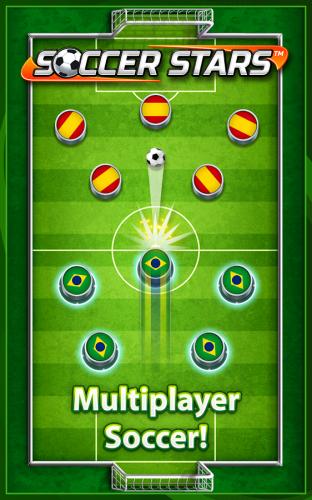 Soccer Stars - بازی ستاره های فوتبال انگشتی