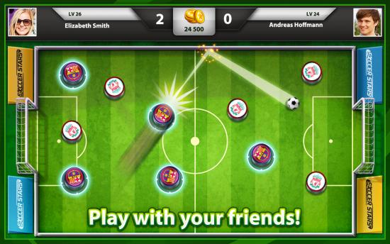 دانلود Soccer Stars 3.8.1 بازی انلاین ستاره های فوتبال انگشتی 2