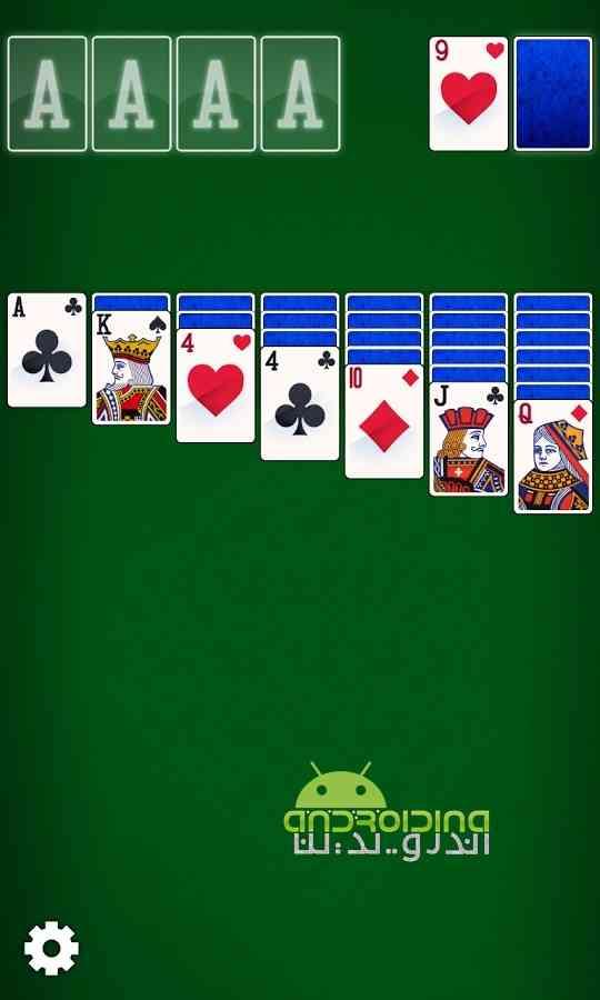 دانلود Solitaire Epic 1.0.6 بازی کارتی حماسه تک نفره اندروید 1