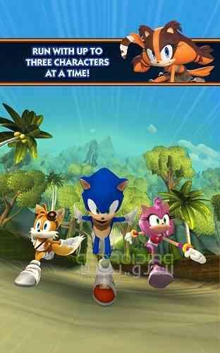 سری دوم بازی زیبای سونیک برای اندروید Sonic Dash 2 Sonic Boom