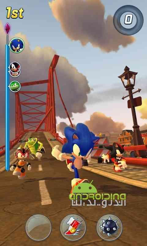 دانلود Sonic Forces: Speed Battle 1.2.1 بازی نیروی سونیک :نبرد سرعتی اندروید 1